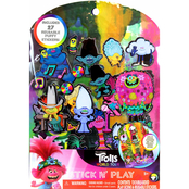 Tara Toy Trolls World Tour Stick N' Play Sticker Activity Kit