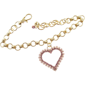 Buddy G's Chain Collar with Open Heart