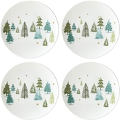 Lenox Balsam Lane Coupe Accent Plates Set of 4