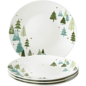 Lenox Balsam Lane Coupe Dinner Plates Set of 4