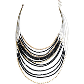 Jules b Multi-Row Illusion Necklace
