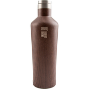 Robert Irvine Wood Decal Wine Growler 25 oz.