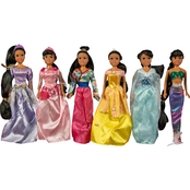 Smart Talent 11.5 in. Princess Dolls 6 pc. Gift Set, African-American