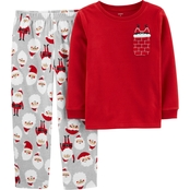 Carter's BSW 2PC Fleece BSW 2PC Santa Pocket