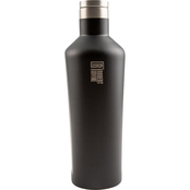 Robert Irvine Black Powdercoat 25 ounce Wine Growler