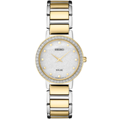 Seiko Women's Solar Watch with Swarovski Crystals SUP434
