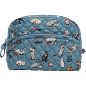 Vera Bradley Cosmetic Med, Cats Meow