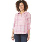 JW Roll Tab Plaid Shirt