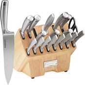 Cuisinart Normandy 19 pc. Stainless Steel Cutlery Block Set