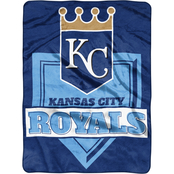 Northwest MLB Baseball Home Plate Raschel Throw Blanket