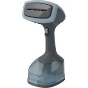 Black & Decker Advanced Handheld Steamer, Grey & Blue