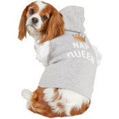 Petco Bond & Co. Nap Queen Dog Hoodie, Small