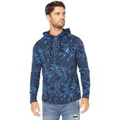 Nautica Allover Printed Hoodie