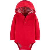 OshKosh B'gosh Infant Boys Hooded Bodysuit