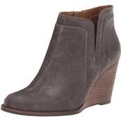 Lucky Brand Yabba Short Wedge Booties