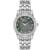 Citizen Women's Eco Drive Silhouette Crystal Watch EM0770-52Y
