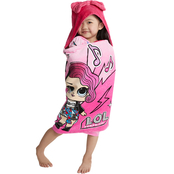 LOL Surprise My Debut Hooded Towel Wrap