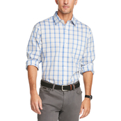 Van Heusen Traveler Classic Fit Stretch Plaid Shirt