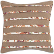 Croscill Delilah 16 x 16 in. Fashion Square Pillow