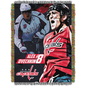Northwest NHL Players Washington Capitals Alexander Ovechkin Woven Tapestry Throw