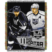 Northwest NHL Players Los Angeles Kings Anze Kopitar Woven Tapestry Throw