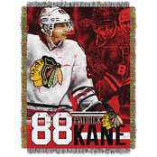 Northwest NHL Players Chicago Blackhawks Patrick Kane Woven Tapestry Throw