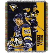 Northwest NHL Players Pittsburgh Penguins Sidney Crosby Woven Tapestry Throw