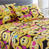 Spirit Linen Home Emoji Sheet Set
