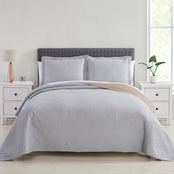 Spirit Linen Home Madison 3 pc. Quilt Set