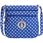 Vera Bradley Logo Trip Zip Hipster, Royal Air Force