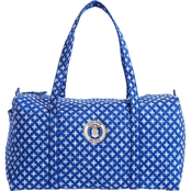 Vera Bradley Air Force Logo Large Duffel, Royal/White Mini Concerto