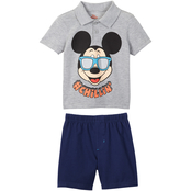 Mickey Mouse Infant Boys Polo Shorts Set