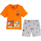 Nickelodeon Infant Boys Paw Patrol French Terry 2 pc. Shorts Set