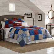 Southern Tide Croatan Patchwork Quilt