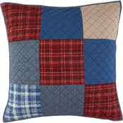 Southern Tide Croatan Patchwork Pillow Sham