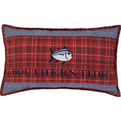 Southern Tide Croatan Skipjack Embroidered Long Decorative Pillow