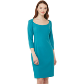 Calvin Klein Round Neckline Sheath Dress