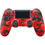 Sony Dualshock 4 Red Camouflage Wireless Controller
