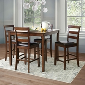 Abbyson Darrell 5 pc. Counter Dining Set