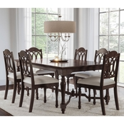 Abbyson Alastair 7 pc. Dining Set