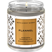 Bath & Body Works Nordic Decor: Single Wick Candle Flannel
