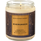 Bath & Body Works Nordic Decor: Single Wick Candle Evergreen