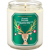 Bath & Body Works Nordic: Single Wick Candle Fresh Balsam