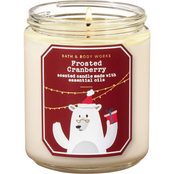 Bath & Body Works Nordic Frosted Cranberry Single Wick Candle