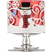 Bath & Body Works Holiday Traditions: Snow Buddies Pedestal Candle Sleeve