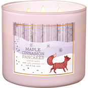 Bath & Body Works Nordic Critters: 3 Wick Candle Maple Cinnamon Pancakes