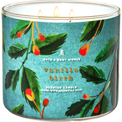 Bath & Body Works Transport Nordic: Vanilla Birch 3 Wick Candle