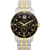 Armitron Men's Multi Function Two Tone Bracelet 44mm Watch 20/5277BKTT