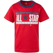 Converse Boys Stars and Stripes Tee