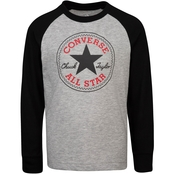 Converse Boys Chuck Patch Raglan Top